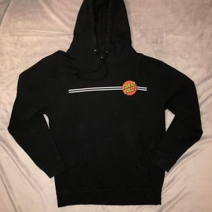 Black Santa Cruz hoodie